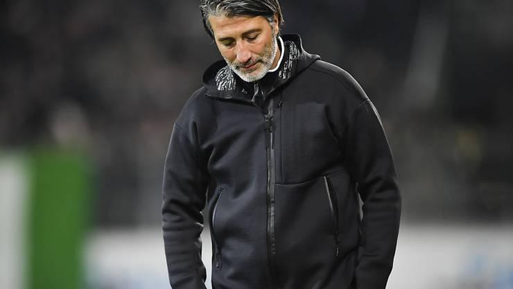 Sions Trainer Murat Yakin sah am Sonntag nichts Erfreuliches