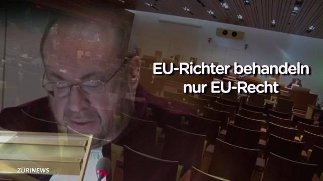 EU-Gerichtshof soll in der Schweiz weniger zu sagen haben