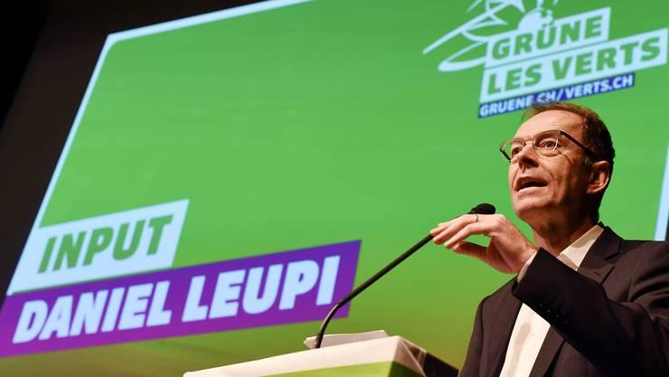 Die Grünen sind derzeit mit Daniel Leupi im Stadtrat vertreten.