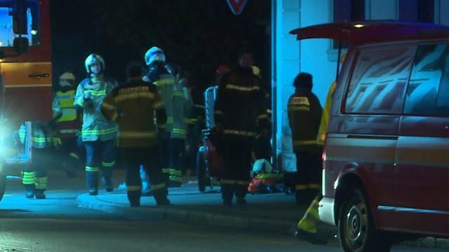 Mehrere Retter erforderlich bei Grossbrand in Solothurn