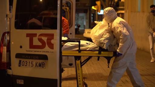 Spanien: 832 neue Corona-Tote in 24 Stunden