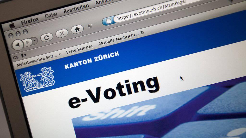 Wie die Zukunftsaussichten für das E-Voting - das Abstimmen und Wählen übers Internet - sind, wird ein Härtetest des Post-Systems zeigen. (Symbolbild)