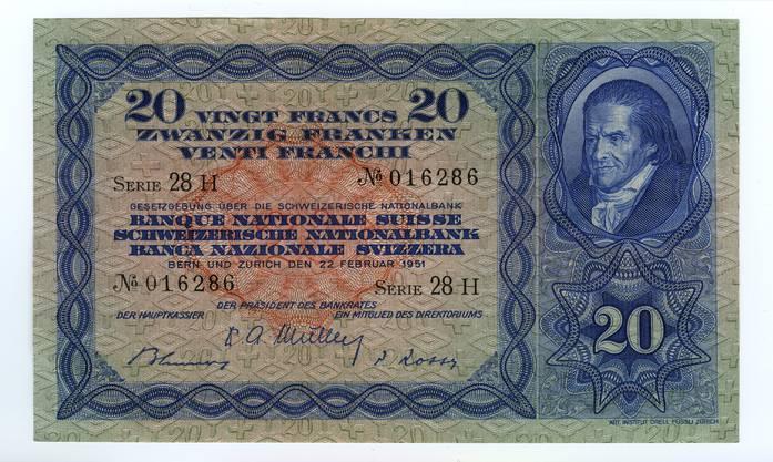 Erste Ausgabe 1930 ○ Rückruf 1956, wertlos seit 1976