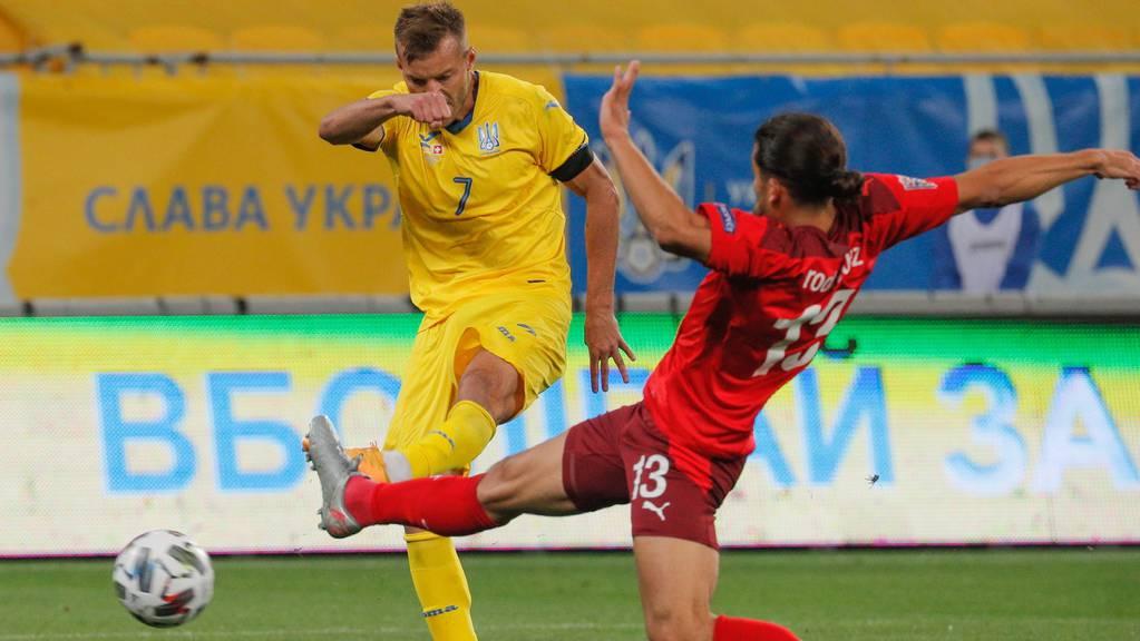 Die Schweiz bleibt dank einem Forfait-Sieg in der Liga A der Nations League.