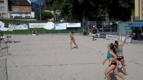Finale  U17-Beachtour in Olten