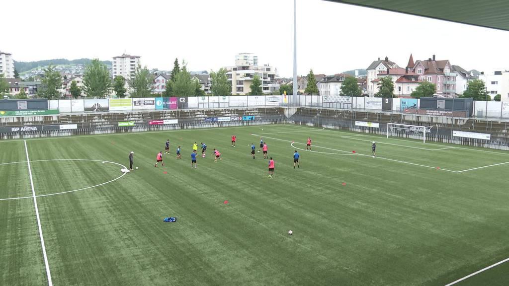 Kurze Verschnaufspause: FC Wil steht wieder auf Traingsplatz
