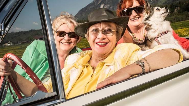 TV24 geht mit diesen drei Damen von «The Gran Plan» an den Start.
