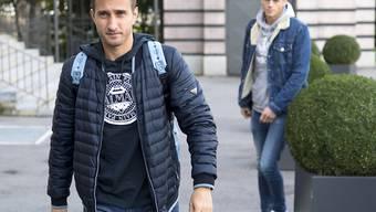 Mario Gavranovic auf dem Weg zu einem neuen Verein.