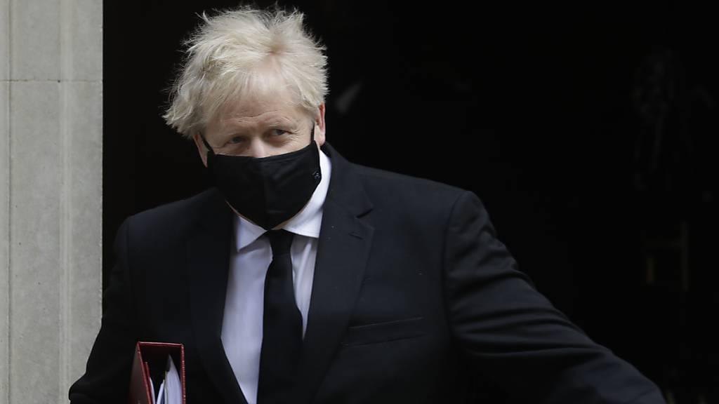 Johnson sagt Reise nach Indien wegen Corona-Situation ab