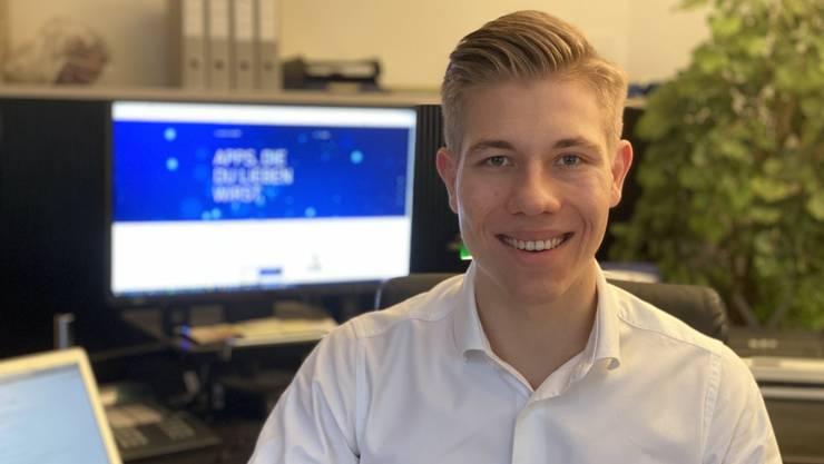 Der 24-jährige Nicolas Schotten hat sich etwas vorgenommen: Online-Dating soll weniger oberflächlich werden.