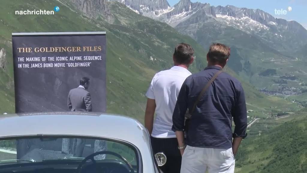 James Bond am Furkapass: Neues Buch zu Dreharbeiten