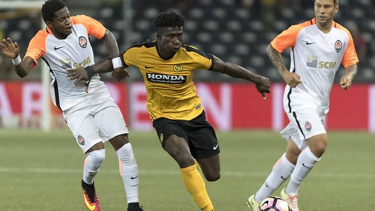 Sékou Sanogo (Mitte in gelb) muss sechs bis acht Wochen pausieren