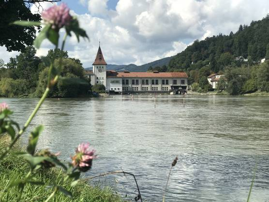 Impressionen vom Eniwa-Kraftwerk in Aarau.