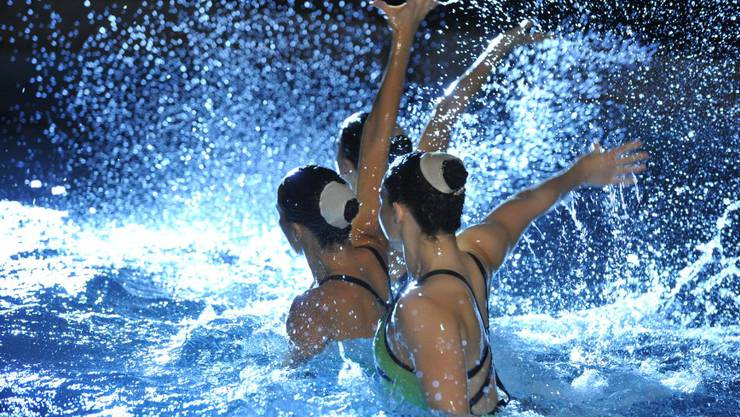 Die Synchronschwimmerinnen des Schwimmclub Solothurns waren einmal mehr sehr erfolgreich.