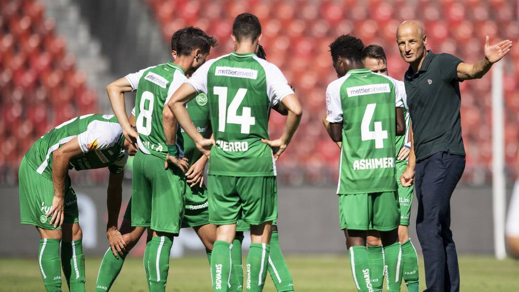 In welche Tabellen-Richtung führt Peter Zeidler den FC St.Gallen?