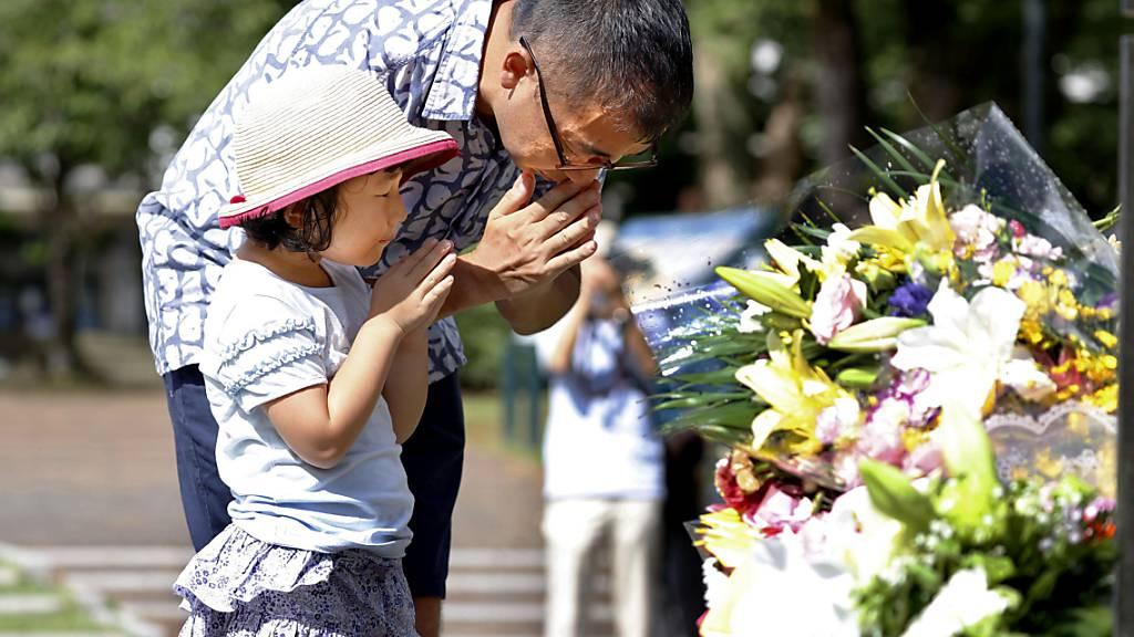 Nagasaki gedenkt des Atombombenabwurfs vor 75 Jahren