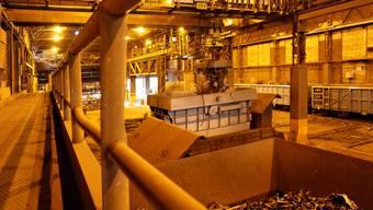 Das Stahlwerk Gerlafingen (Symbolbild)