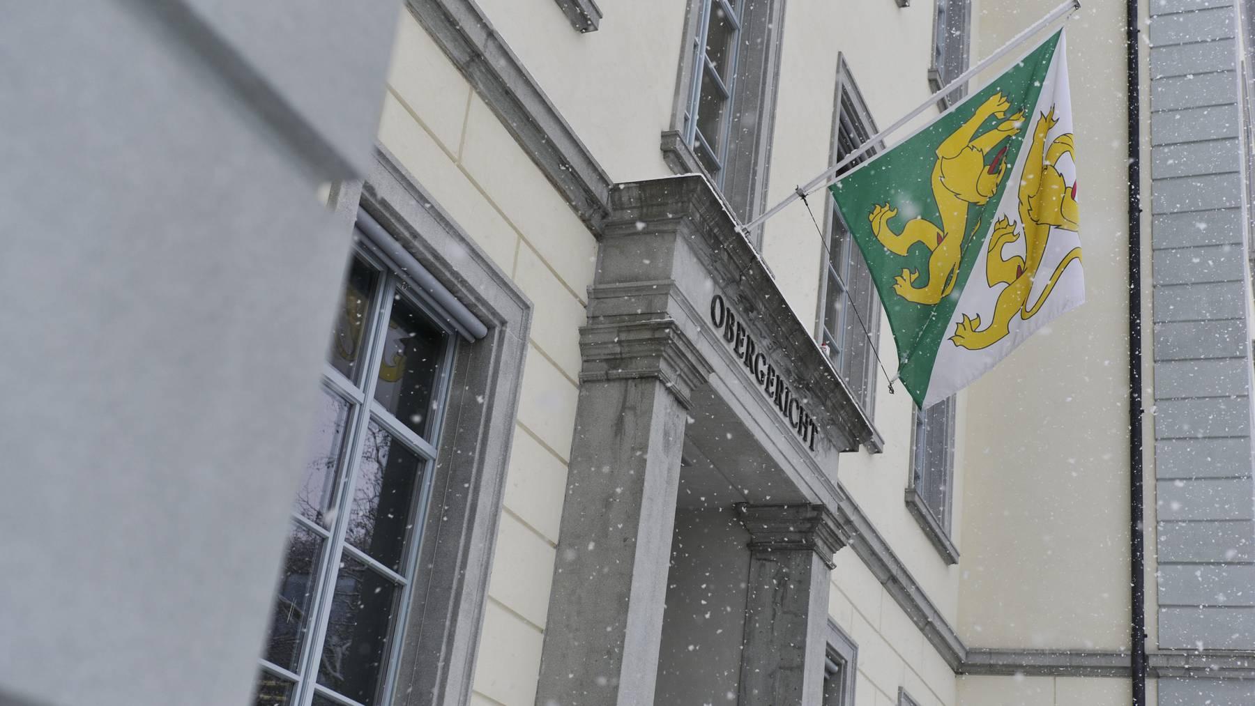 Thurgauer Obergericht Frauenfeld / Archiv Thurgauer Zeitung