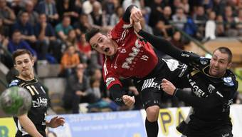 HSC Suhr Aarau gegen Pfadi Winterthur