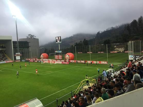 Impressionen zum Spiel von Haris Seferovic mit Benfica.