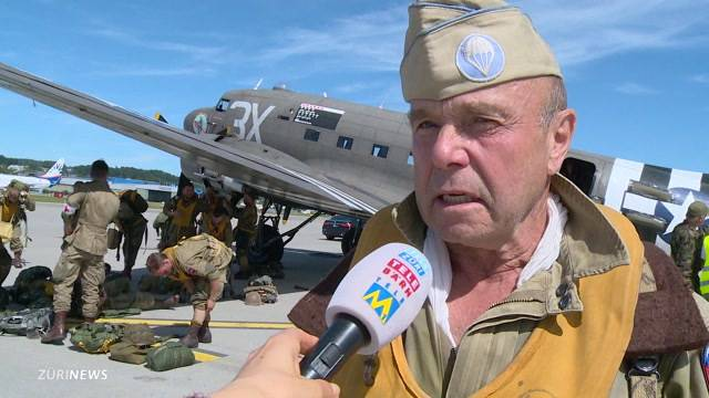 Fallschirmspringen à la D-Day