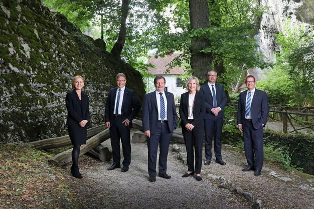 Das offizielle Foto des Solothurner Regierungsrats 2018