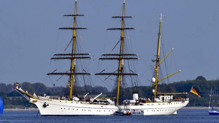 Das Segelschulschiff Gorch Fock soll saniert werden. (Archiv)