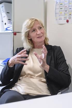Direktorin Irene Wyss im Gespräch über den Spitalausbau.