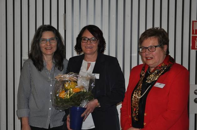 Regina Erhard, Cecile Weber, Erika Ipser