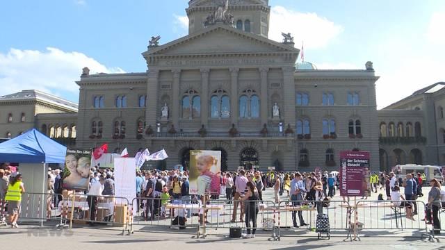 Demo-Ausnahmezustand in Bern