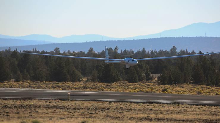Zehn Meter lang und eine Flügelspannweite von über 25 Metern: Das antriebslose Höhenforschungsflugzeug Perlan II.
