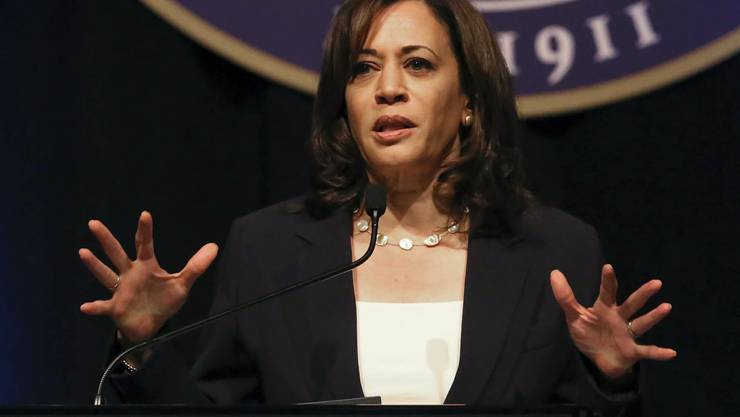 US-Senatorin Kamala Harris.