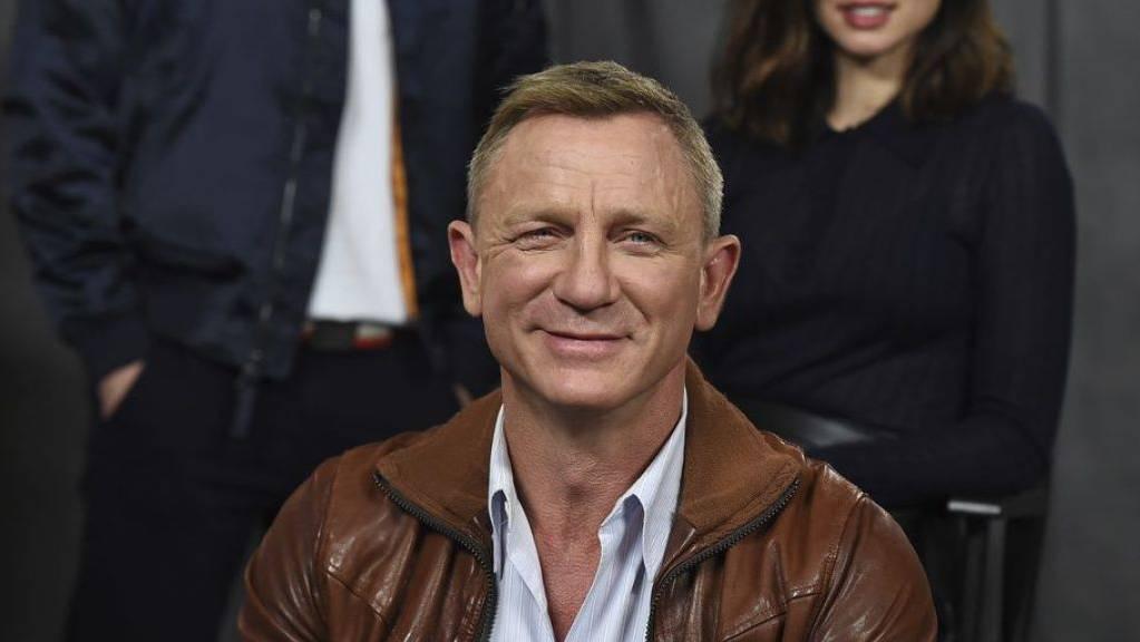 Daniel Craig hat Ende November 2019 das Ende seiner James-Bond-Karriere angekündigt. (Archiv)