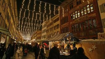 Der Weihnachtsmarkt in Liestal - ob er stattfindet, ist noch unklar.