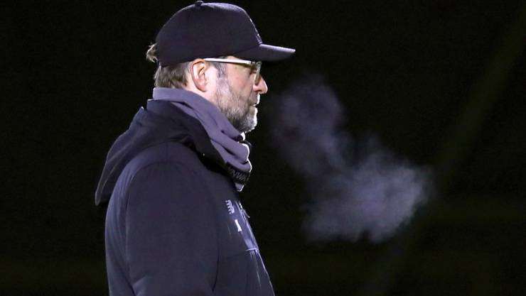 Rauchende Köpfe beim Leader der Premier League: Liverpools Trainer Jürgen Klopp und die Reds sind gegen Napoli unter Siegzwang
