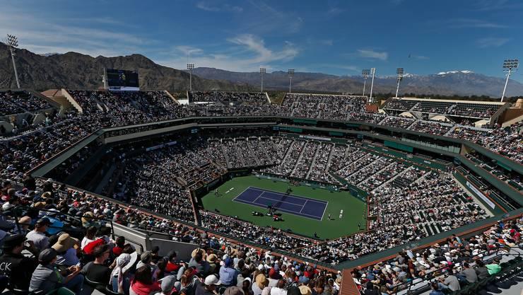 Wegen des Corona-Virus fällt das Tennis-Turnier in Indian Wells aus.