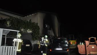 In Dornach brannte in einem Einfamilienhaus die Garage.