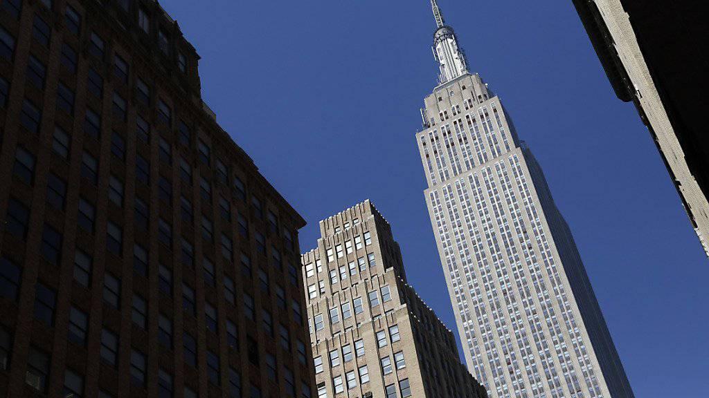 Das Empire State Building gehört jetzt zum Teil  Katar. (Archiv)