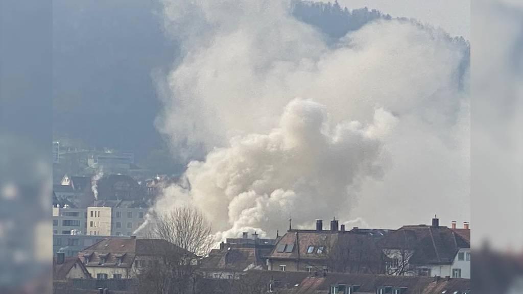 Brand in St.Fiden: Mehrfamilienhaus unbewohnbar