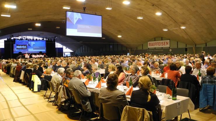 Raiffeisen-Generalversammlung vom vergangenen Mai in Grenchen. (Archiv)