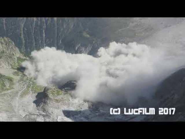 Der gigantische Felssturz am Piz Cengalo in Bondo