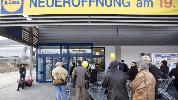Vor zehn Jahren wurde in St. Gallen die erste Lidl-Filiale der Schweiz eröffnet.