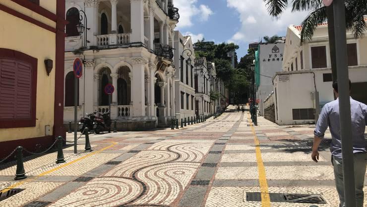 Macau war bis 1999 eine portugiesische Kolonie