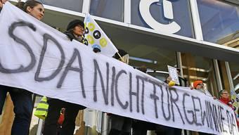 SDA-Redaktion beendete am Freitagnachmittag ihren Streik – vorübergehend.