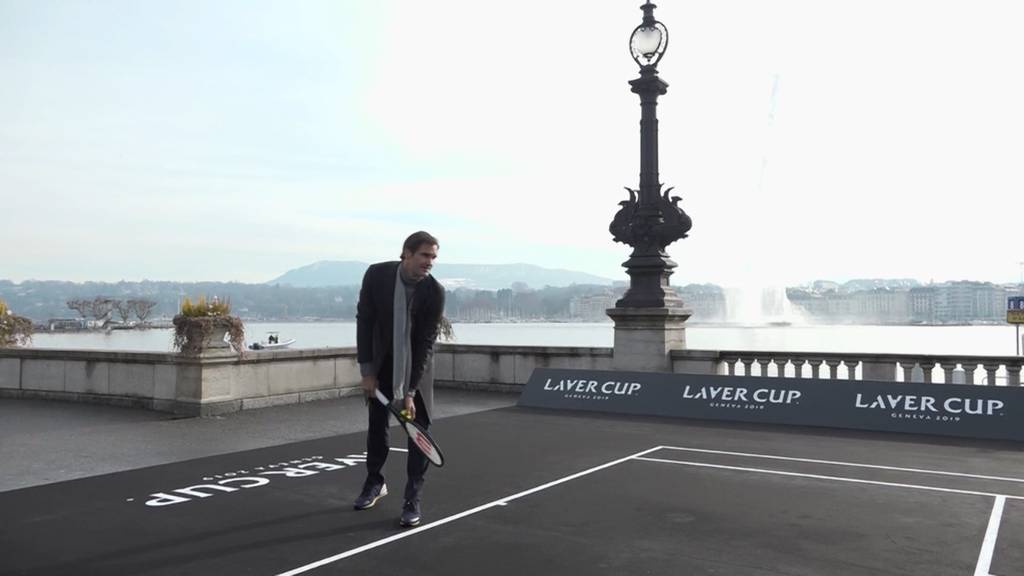 Roger Federer zieht an den Zürichsee