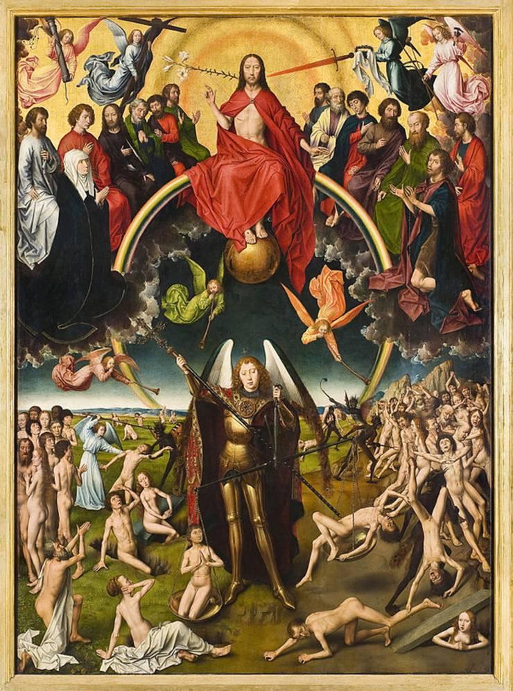 Doris Wagner träumt vom Jüngsten Gericht. Hier in einer Darstellung von Hans Memling um 1470.