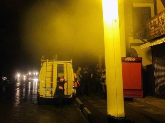 Rettungskräfte ausserhalb von Krimsk in Südrussland