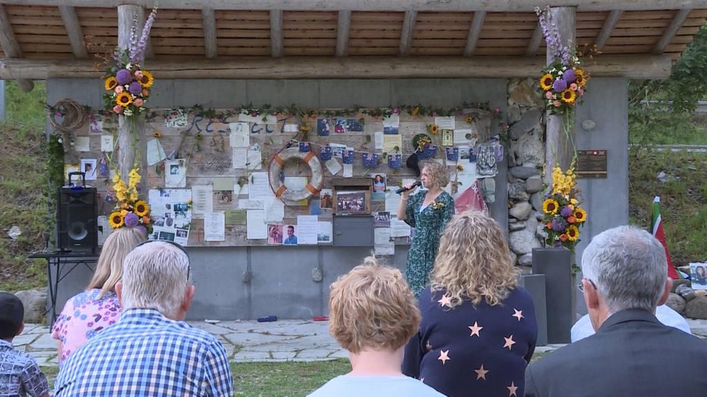 20 Jahre Saxetbach-Drama: Überlebende kehren an Unglücksort zurück