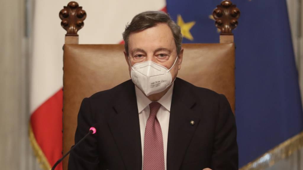 Draghis Regierung vor wichtigen Pandemie-Entscheidungen