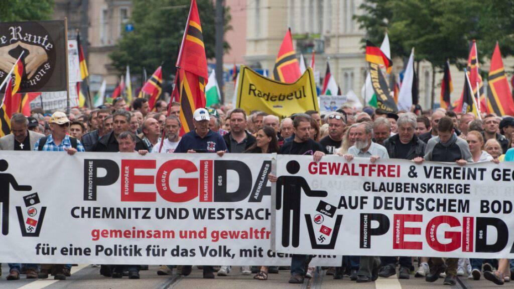 Verfassungsschutz stuft Pegida als extremistische Bestrebung ein